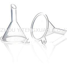 Custom Mini Plastic Funnel , Clear Plastic Funnel For Perfume Liquid Oil Filling