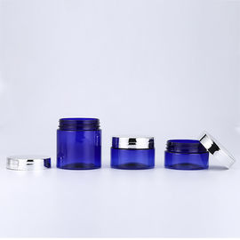 50 60 120ml Glass Cream Jars , Beauty Cream Jars Cosmetic Packaging With Screw Top Lids
